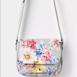 Joules Darby printed Saddle Bag Crossbody